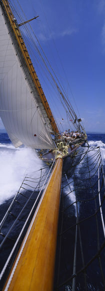 Yacht Mast Caribbean by Panoramic Images