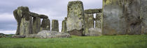 Rock formations of Stonehenge, Wiltshire, England von Panoramic Images
