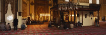Group of people praying in a mosque, Ulu Camii, Bursa, Turkey by Panoramic Images