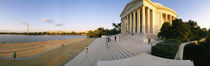 Monument at the riverside, Jefferson Memorial, Potomac River, Washington DC, USA von Panoramic Images