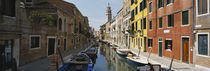 Canal passing through a city, Venice, Italy by Panoramic Images