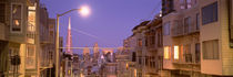 City At Night, San Francisco, California, USA by Panoramic Images