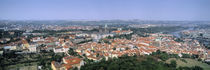 Aerial view of a city, Prague, Czech Republic von Panoramic Images