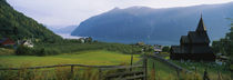 Lustrafjorden, Luster, Sogn Og Fjordane, Norway by Panoramic Images