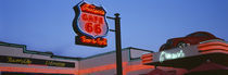 Low angle view of a road sign, Route 66, Arizona, USA by Panoramic Images
