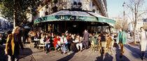 Saint-Germain-Des-Pres Quarter, Paris, France von Panoramic Images