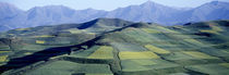 Fields, Farm, Qinghai Province, China by Panoramic Images