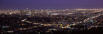 Aerial view of a cityscape, Los Angeles, California, USA 2010 von Panoramic Images