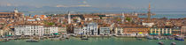 High angle view of a city at the waterfront, Venice, Veneto, Italy von Panoramic Images