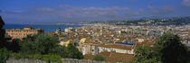 Aerial View Of A City, Nice, France von Panoramic Images