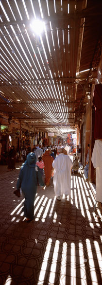 Souk, Marrakech, Morocco von Panoramic Images
