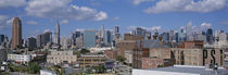 Aerial View Of An Urban City, Queens, NYC, New York City, New York State, USA von Panoramic Images