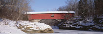 Narrows Covered Bridge Turkey Run State Park IN USA von Panoramic Images