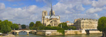 Seine River, Paris, Ile-de-France, France by Panoramic Images