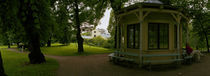 Gazebo in a garden, Royal Palace Gardens, Oslo, Norway von Panoramic Images