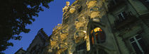 Low angle view of a building, Casa Batllo, Barcelona, Catalonia, Spain von Panoramic Images