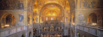 Italy, Venice, San Marcos Cathedral by Panoramic Images