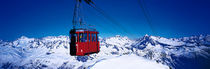 Panorama Print - Cable Car Andermatt Schweiz von Panoramic Images