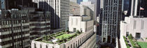 Rooftop View Of Rockefeller Center, NYC, New York City, New York State, USA by Panoramic Images