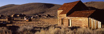 Abandoned houses in a village, Bodie Ghost Town, California, USA von Panoramic Images