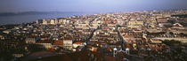 Aerial view of a city, Lisbon, Portugal by Panoramic Images