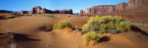 Wide angle view of Monument Valley Tribal Park, Utah, USA by Panoramic Images