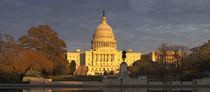 Pond in front of a government building, Capitol Building, Washington DC, USA by Panoramic Images