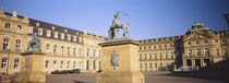 Schlossplatz, Stuttgart, Baden-Wurttemberg, Germany by Panoramic Images