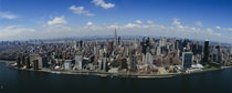 Aerial view of a city, Manhattan, New York City, New York State, USA von Panoramic Images
