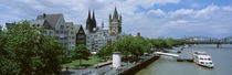 Rhine River, Cologne, Germany von Panoramic Images
