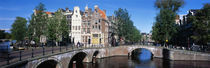 Row Houses, Amsterdam, Netherlands by Panoramic Images