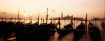 Gondolas San Giorgio Maggiore Venice Italy by Panoramic Images