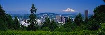 Mt Hood Portland Oregon USA von Panoramic Images