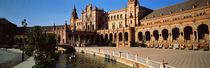 Panorama Print - Plaza Espana, Sevilla, Spanien von Panoramic Images