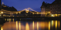 Bridge across a river, Reuss River, Lucerne, Canton Of Lucerne, Switzerland by Panoramic Images