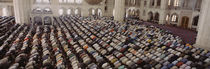 Turkey, Edirne, Friday Noon Prayer at Selimiye Mosque von Panoramic Images
