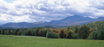 Clouds over a grassland, Mt Mansfield, Vermont, USA von Panoramic Images