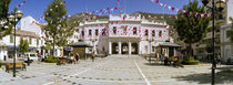 Decoration to celebrate National Day, John Mackintosh Square, Gibraltar von Panoramic Images
