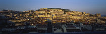 High Angle View Of Buildings In A City, Lisbon, Portugal by Panoramic Images