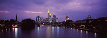 City at the waterfront, Main River, Frankfurt, Hesse, Germany by Panoramic Images