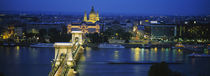 Danube River, Budapest, Hungary by Panoramic Images