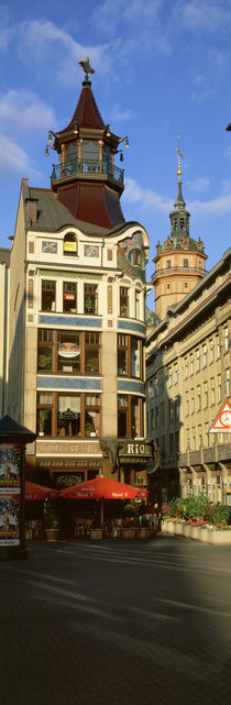 Cafe Riquet, Leipzig, Germany by Panoramic Images