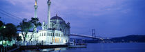 Ortakoy Mosque, Istanbul, Turkey von Panoramic Images