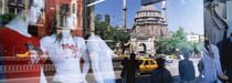 Window Reflection, Istanbul, Turkey by Panoramic Images