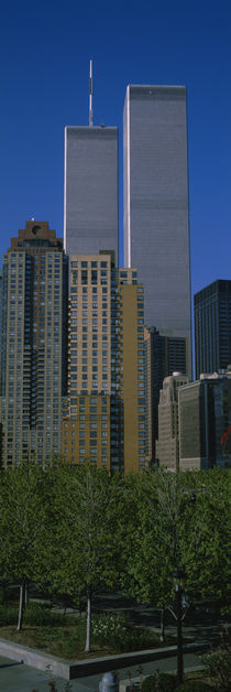 Buildings in a city, World Trade Center, New York City, New York State, USA by Panoramic Images