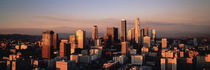 Skyline At Dusk, Los Angeles, California, USA by Panoramic Images