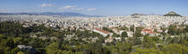 High angle view of a city, Plaka, Athens, Greece by Panoramic Images