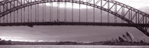Harbor Bridge, Pacific Ocean, Sydney, Australia by Panoramic Images