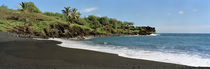 Surf on the beach, Black Sand Beach, Maui, Hawaii, USA von Panoramic Images