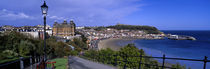 High Angle View Of A City, Scarborough, North Yorkshire, England, United Kingdom von Panoramic Images